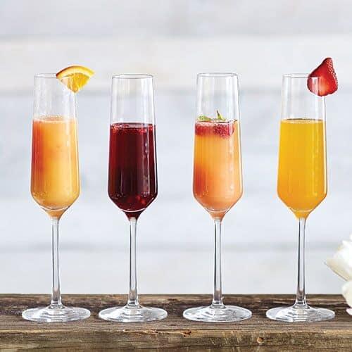 Various Brunch Cocktails