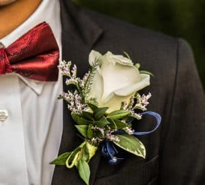 Rosemary Boutonnière