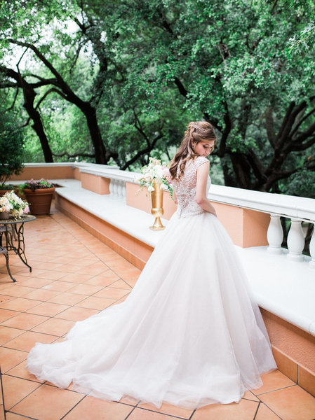 Bride on Sheppard King Suite Terrace