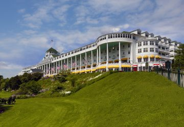 Architecture Photography of Grand Hotel