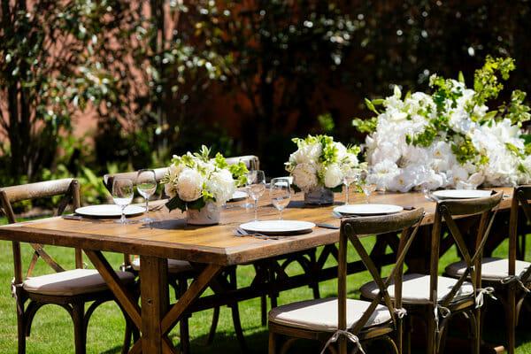 Mansion Garden Dining