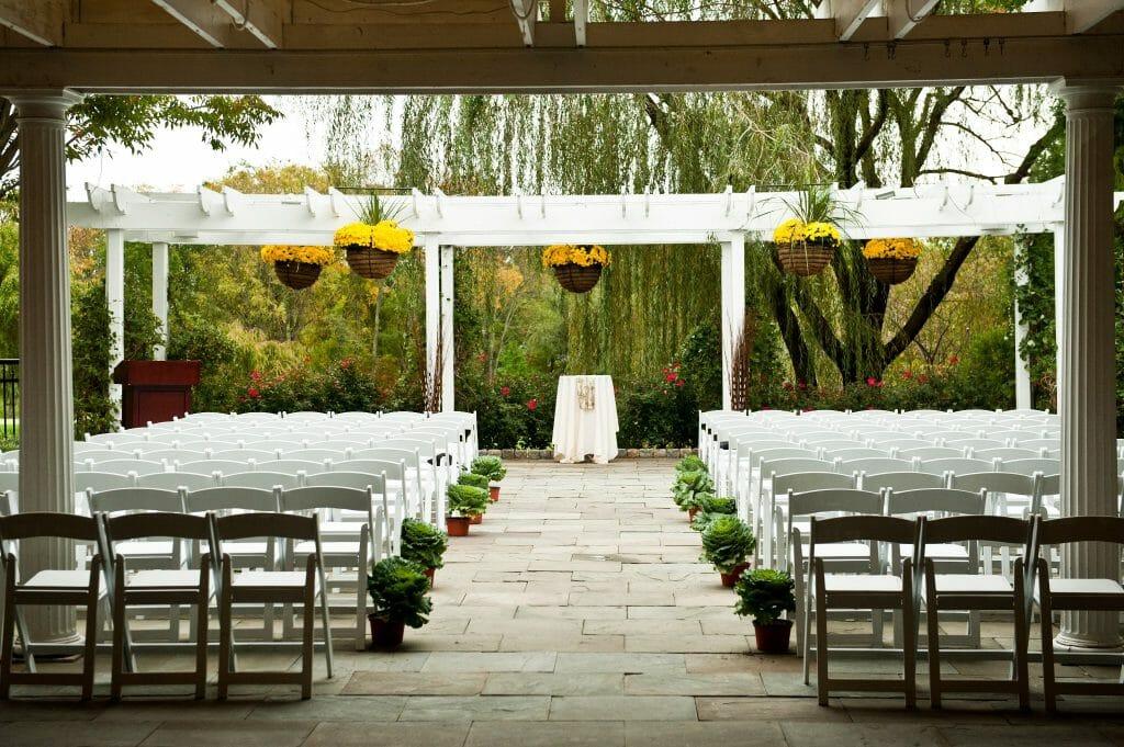 Outdoor Weddings - Backup Plan