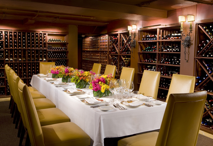 The Mansion Restaurant Wine Cellar