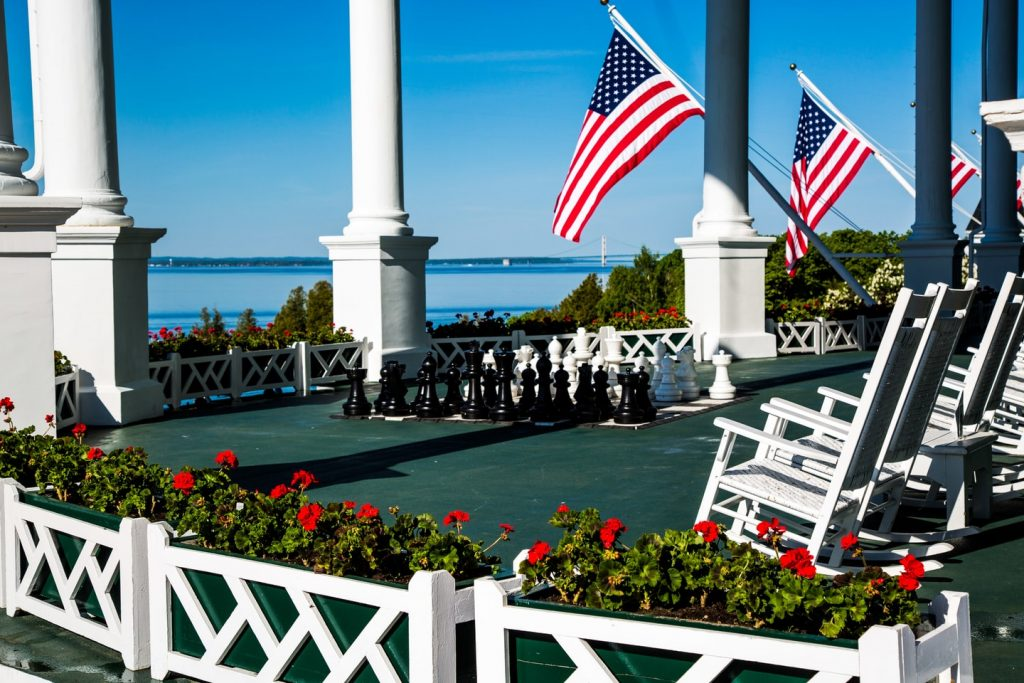 Courtesy and Copyright (c) Grand Hotel at Mackinac Island