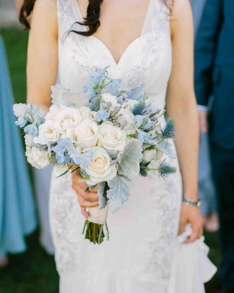 Pale Blue Bouquet