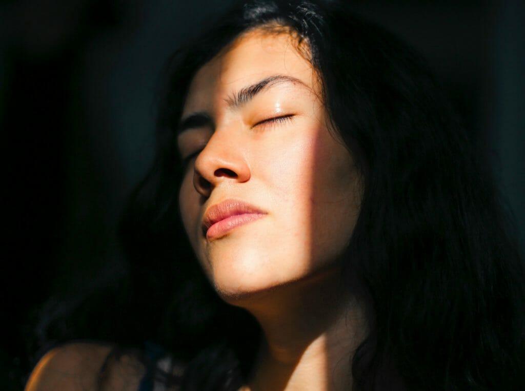 Meditate and visualize health