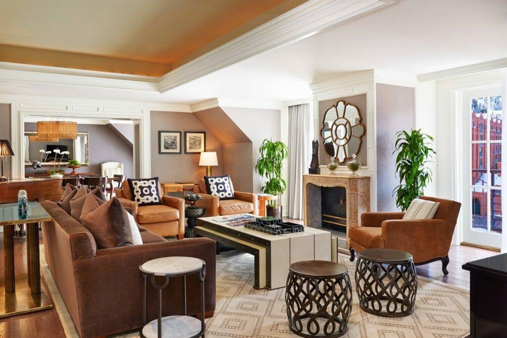 Presidential Suite Living Room