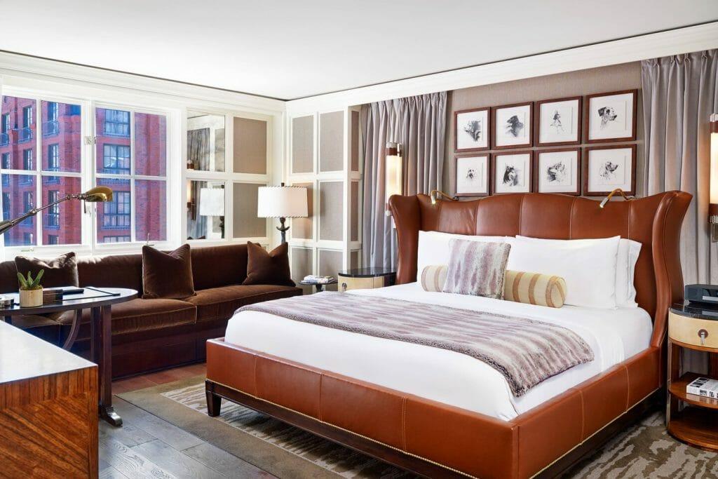 Silver Queen Suite - Master Bedroom