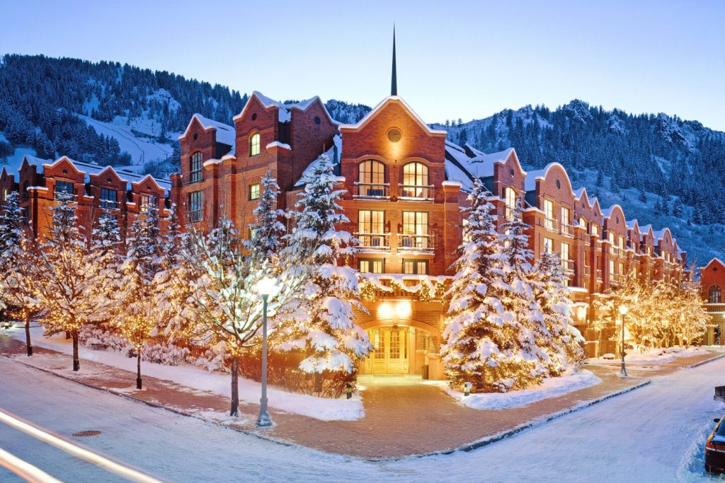 St. Regis Aspen Resort Winter Exterior