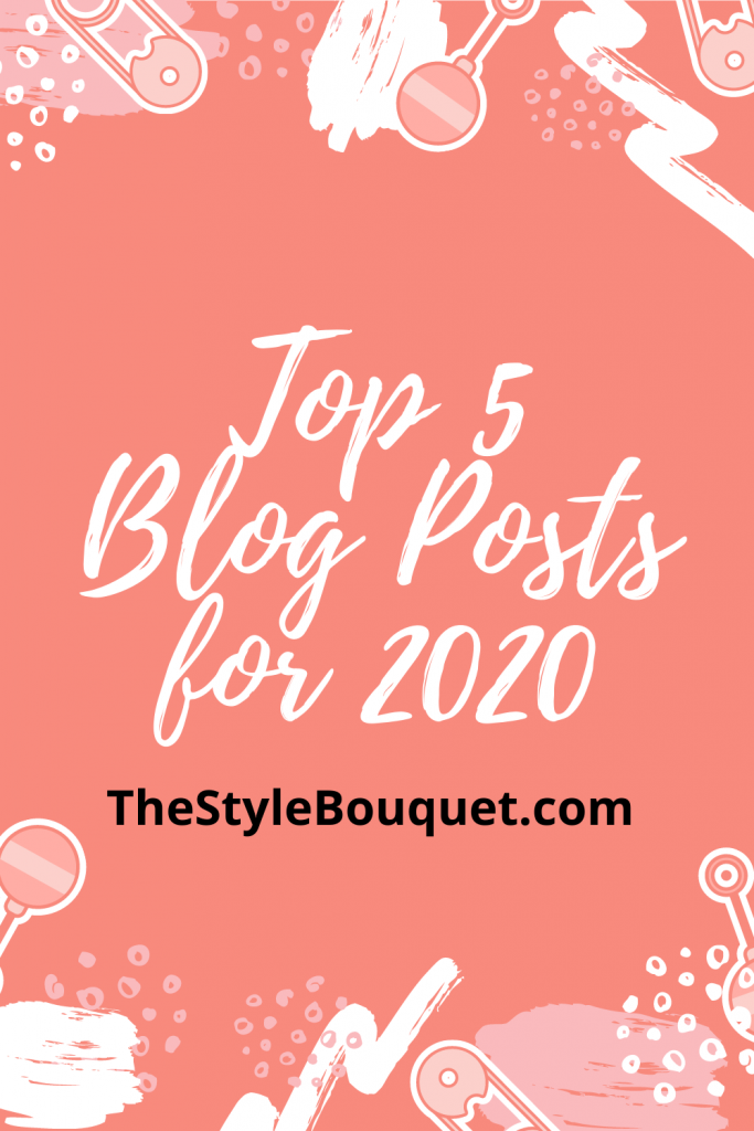 Top 5 Blog Posts for 2020 - P1
